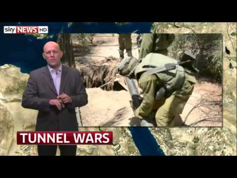 Tunnel Wars: The Battle Taking Place Beneath Gaza