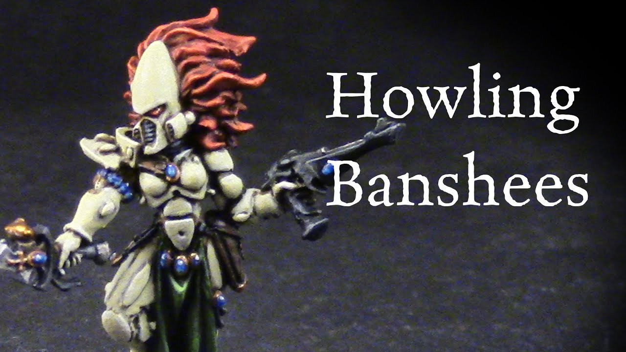 How to Paint Eldar Howling