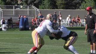 Broncos vs 49ers Training Camp