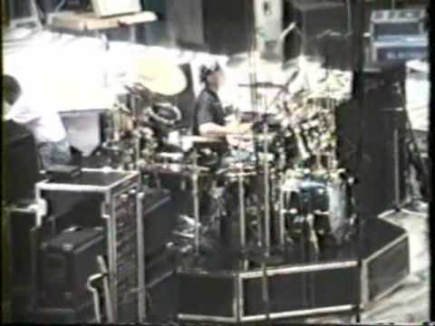 Neil Peart RARE drum solos from '91