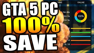 GTA 5 PC 100% Save Game Download + How To Install! - BILLIONS OF DOLLARS & MORE! (GTA 5 PC Gameplay)