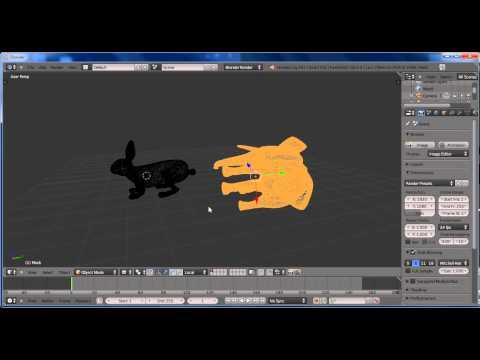 Orientacion de Imagenes 3D con Blender