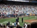 Old Timer's Day 2008 Yankee Stadium - Mickey Rivers