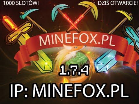 Darmowy Serwer Minecraft MineFox.pl NO PREMIUM POLECAM!