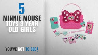 Top 10 Minnie Mouse Toys 3 Year Old Girls [2018]: Just Play Girls Minnie Happy Helpers Bag Set