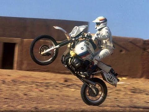 History of BMW GS Trail Enduro Rally Paris Dakar. Historia documental BMW G/S GS R80 R100 R1200 GS