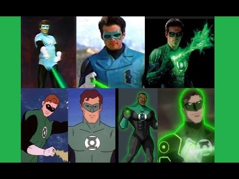 Green Lantern - Evolution in TV & Cinema