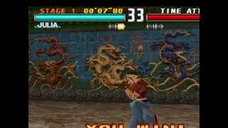 tekken 3 gameplay julia 2 perfect