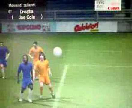 Incredibile Goal con Drogba