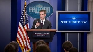 5/20/13: White House Press Briefing