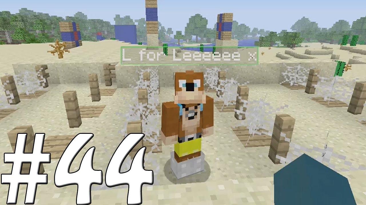 Minecraft xbox sky island challenge squid s party games 44