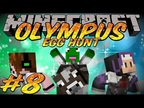Minecraft Olympus Friendly Egg Hunt Episode 8 - The lost cow!