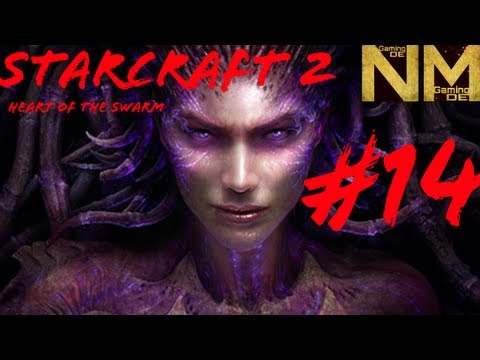 Lets Play Starcraft 2 Heart of the Swarm Kampagne #014 Kerrigan VS Zeratul