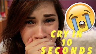 HOW TO CRY IN 10 SECONDS / ACTING TIP   JENNA LARSON