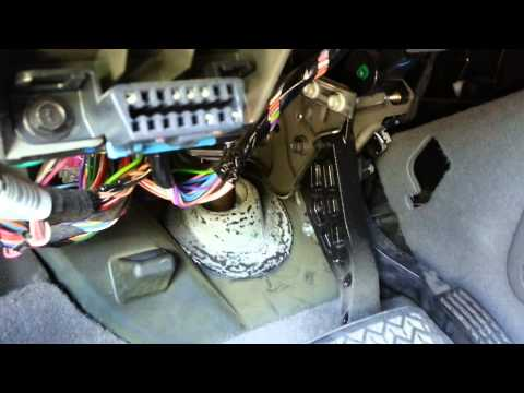 Chevy Blend Door Actuator Replacement - Part 1