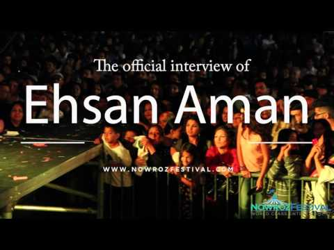 EHSAN AMAN NowRoz Festival 2015 After Event Official Interview