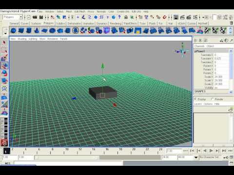 Maya Tutorial 9 : Water Shader