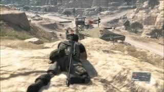 Metal Gear Solid 5 Phantom Pain: Free roam gameplay #1