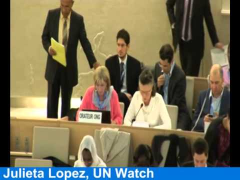 Venezuela Objects as Aunt of Jailed Leopoldo Lopez Calls for Urgent UNHRC Debate