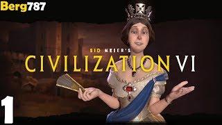 Civilization 6 | Lets Play England | Deity #1