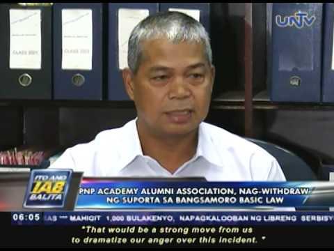 PNPAAI, nag-withdraw ng suporta sa Bangsamoro Basic Law