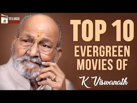 TOP 10 K Vishwanath MUST WATCH Movies | Tollywood Legendary Directors | Telugu Golden Movies
