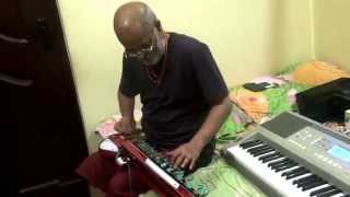 Bulbul - Kannada Song Notadaage Nageya Meeti(Parasangada Gende Timma)on Banjo/Bulbul Tarang by Vinay M Kantak