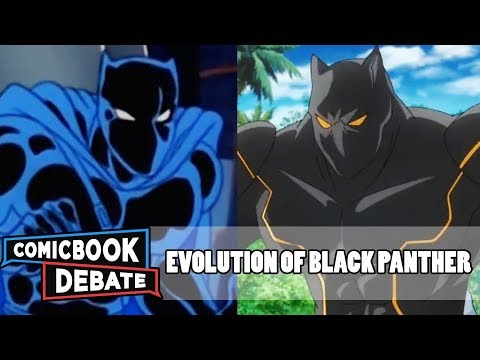 Evolution of Black Panther in Cartoons in 5 Minutes (2017)