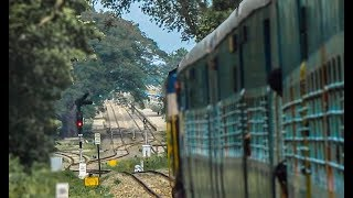 Aryankavu -  Bhagavathipuram - Sengottai Journey | Indian Railways