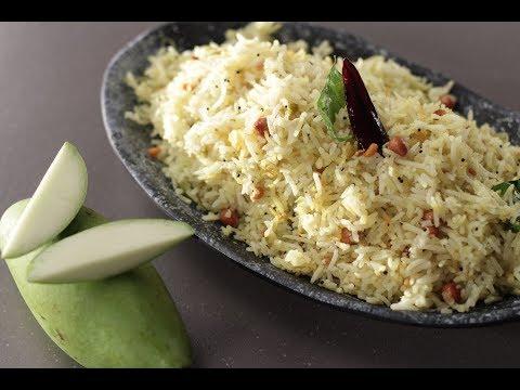Raw Mango Rice | Sanjeev Kapoor Khazana