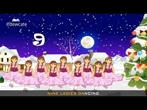 12 days of Christmas – songs for kids