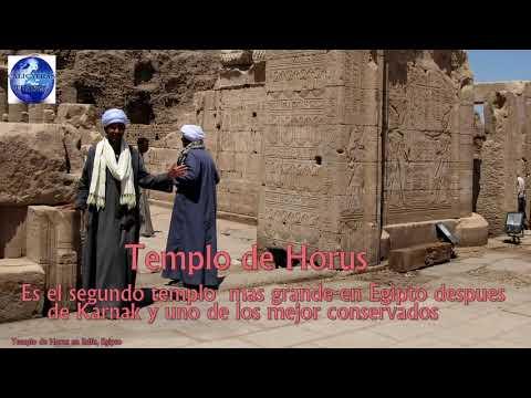 Templo de Horus, Edfu Egipto - recorrido interior