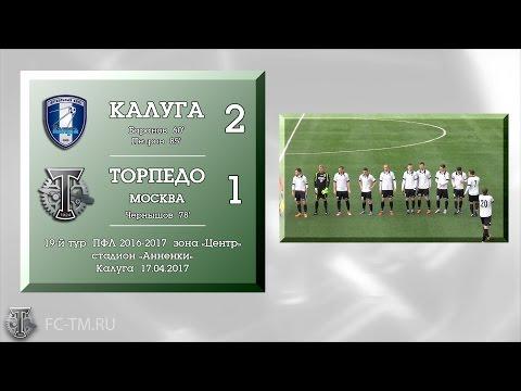 Калуга - Торпедо Москва (2:1). Обзор матча
