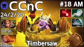 CCnC [test123] plays Timbersaw!!! Dota 2 7.20