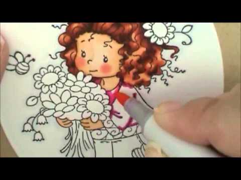 Wee Love You Bunches Copic Coloring Card Kit