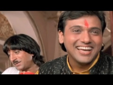 Govinda, Kadar Khan, Shakti Kapoor, Raja Babu - Scene 2/21