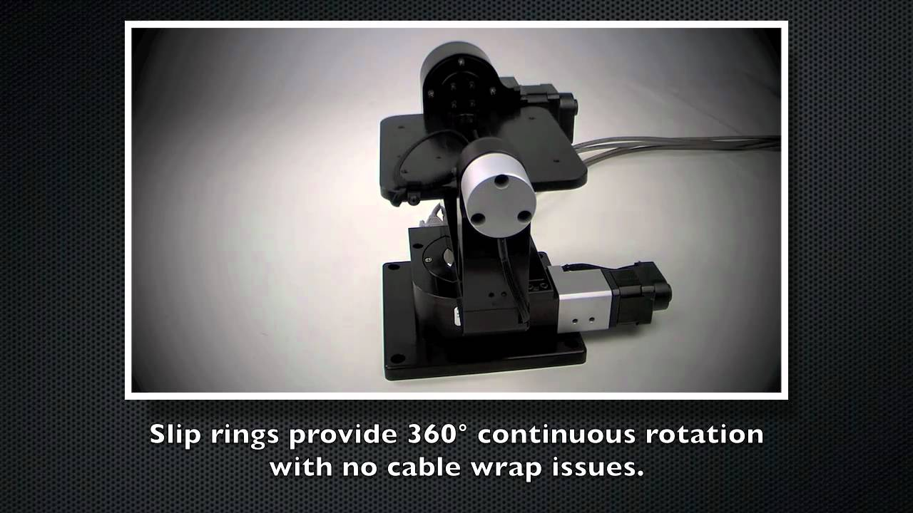 Gimbal Mount Slip Ring Version Newmark Systems Youtube