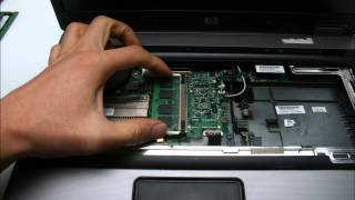 HP 6735b 노트북 분해(Laptop disassembly)