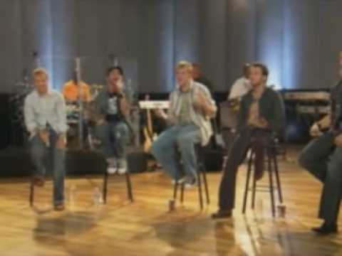 Backstreet boys I want it that way AOL sessions