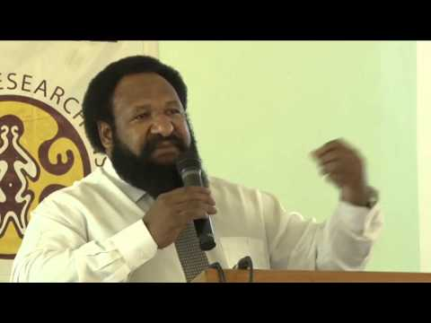 PNG Budget Forum 2013: Hon Don Polye, PNG Minister for Treasury
