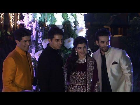 Bollywood gathers at Manish Malhotra's niece Riddhi's sangeet