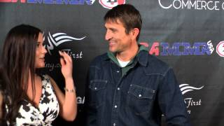 Thomas Brown Badbeat 12 Red Carpet Interview