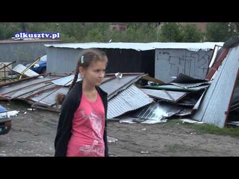 Trąba Powietrzna Klucze 7.08.2012r.