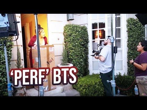 """""""PERF"""" BEHIND THE SCENES!"""