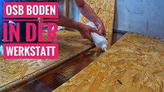 Osb Als Fußboden ~ Bodenisolierung im wohnmobil teil trittschalldämmung osb