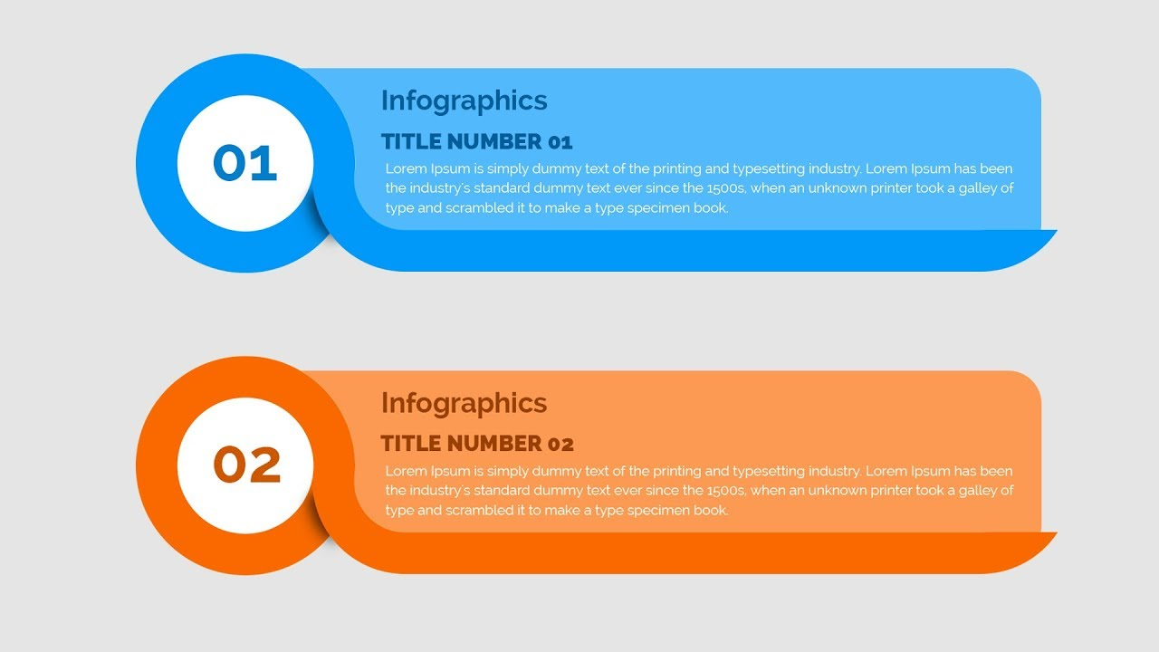 Creating infographic in photoshop