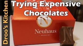 Trying Belgium Chocolates - Neuhaus