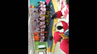 Pink team cheer dance. WNS NYK Team Building.
