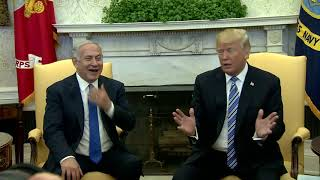 PM Netanyahu Meets US President Trump