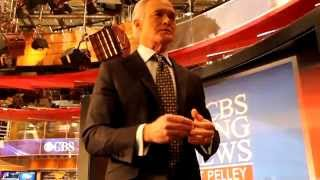 Interview with Scott Pelley at CBS in New York City